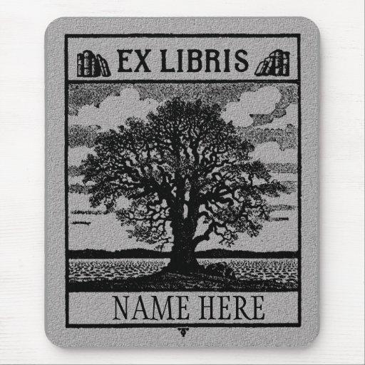 Árvore ex de Libris no campo