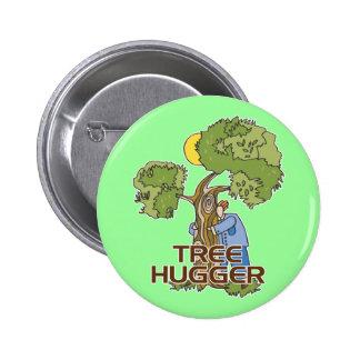 Árvore Hugger Bóton Redondo 5.08cm