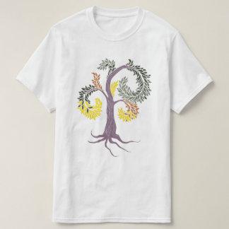 árvore pela abadia adoptiva camiseta