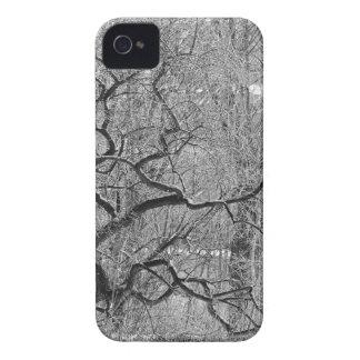 árvore preto e branco capinha iPhone 4