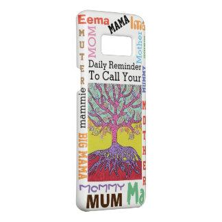 Árvore Yiddish da capa de telefone da mãe da