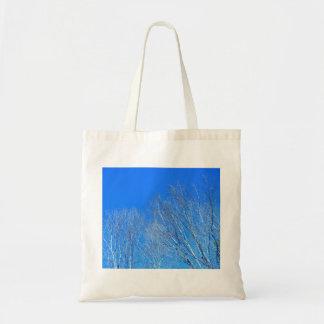 Árvores & céu brilhante - iPad Bolsa