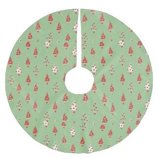 Árvores de Natal Saia Para Árvore De Natal De Poliéster