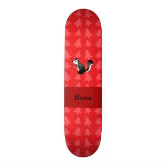 Árvores de Natal vermelhas personalizadas da jarit Skates Personalizados