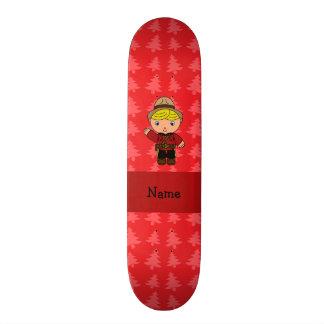 Árvores de Natal vermelhas personalizadas do mount Skate Boards