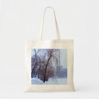 Árvores do inverno no Central Park Bolsa Tote