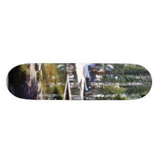 Árvores Forrests dos lagos Shape De Skate 18,4cm