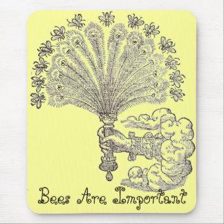 As abelhas são mousepad importante