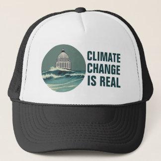 As alterações climáticas são Capitólio submerso Boné