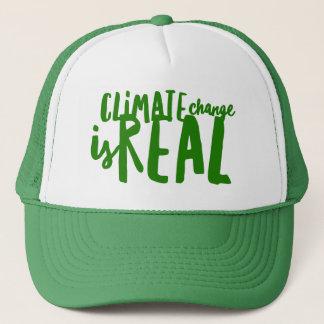 As alterações climáticas são chapéu real do boné