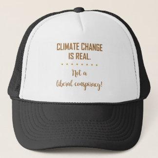 AS ALTERAÇÕES CLIMÁTICAS SÃO REAIS… BONÉ