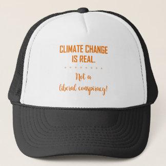 AS ALTERAÇÕES CLIMÁTICAS SÃO REAIS BONÉ