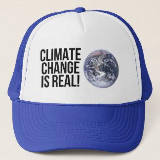 As alterações climáticas são reais! Mundo da terra Boné