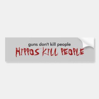 as armas não matam pessoas, PESSOAS do MATAR dos H Adesivo Para Carro