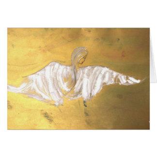 As asas do anjo cartoes