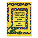 As avós fazem ao mundo um lugar especial… cartão