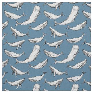 As baleias estão em toda parte tecido