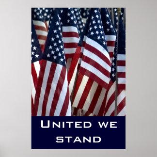 As bandeiras… uniram-nos estão poster