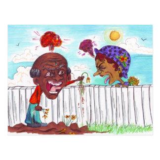 As boas cercas fazem a bons vizinhos o cartão