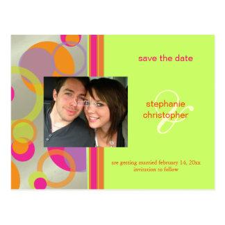 As bolhas da modificação, salvar os cartão da foto cartão postal