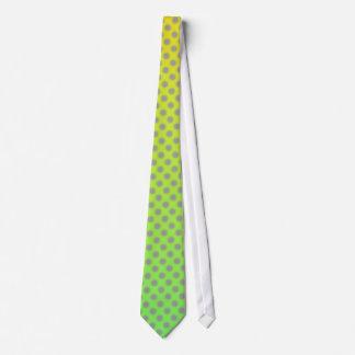 As bolinhas macias desvanecem-se gravata