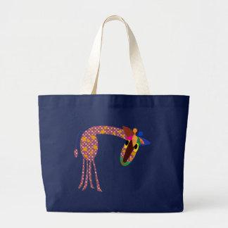 As bolsas animais: Girafa das bolinhas