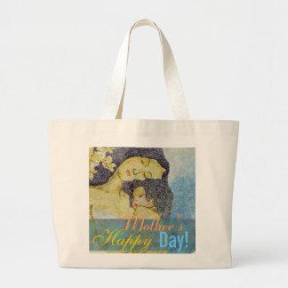 As bolsas artísticas da mãe e da criança do dia da