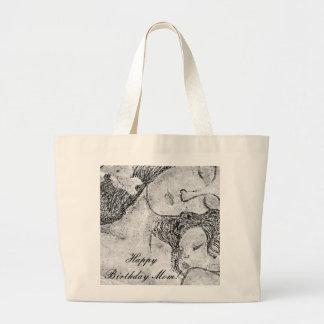As bolsas artísticas do desenho da mãe e da crianç
