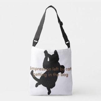 As bolsas bonitos do chique da forma dos gatos