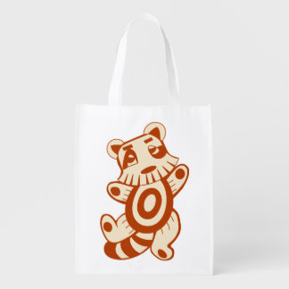 As bolsas bonitos do personagem de desenho animado sacola reusável