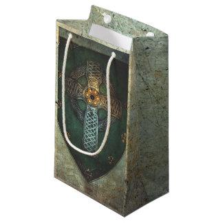 As bolsas celtas do presente do protetor sacola para presentes pequena