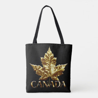 As bolsas da folha de bordo do ouro de Canadá das