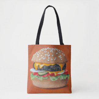 As bolsas da ilustração do Hamburger