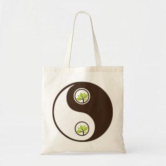 As bolsas de canvas orgânicas do planeta de Yin Ya