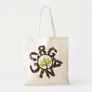 As bolsas de canvas reusáveis do planeta orgânico
