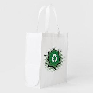 As bolsas de canvas reusáveis do planeta orgânico  sacola reusável