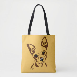 As bolsas do amante do cão da chihuahua