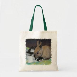 as bolsas do coelhinho da Páscoa