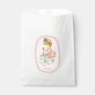 """As bolsas do favor de partido de """"Annabelle"""" Sacolinha"""