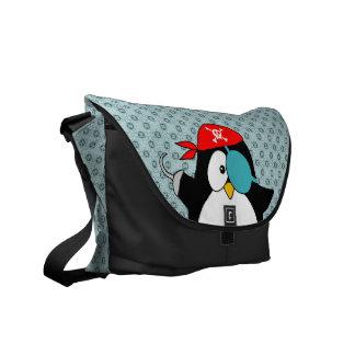 As bolsas do pinguim do pirata bolsa mensageiro