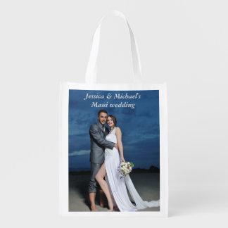 As bolsas do presente da festa de casamento sacola ecológica
