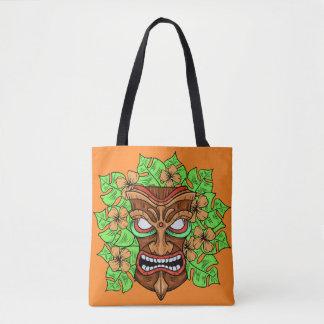 As bolsas engraçadas da máscara de Tiki
