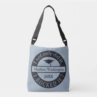 As bolsas feitas sob encomenda do nome & do ano da