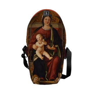 """""""As bolsas mensageiro do Virgin e da criança"""""""