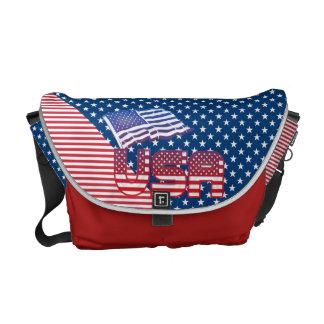As bolsas mensageiro dos EUA para americanos