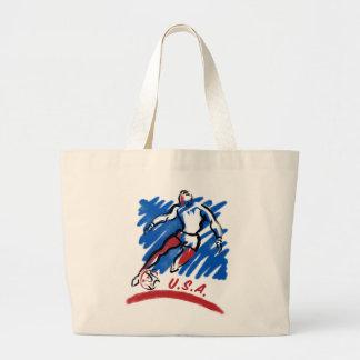 As bolsas & os bolsas do Swoosh do futebol dos EUA