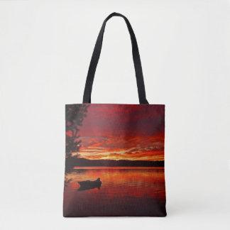 as bolsas ou os bolsas do por do sol