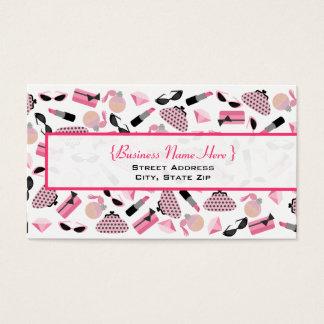 As bolsas perfumam & o cartão de visita do batom