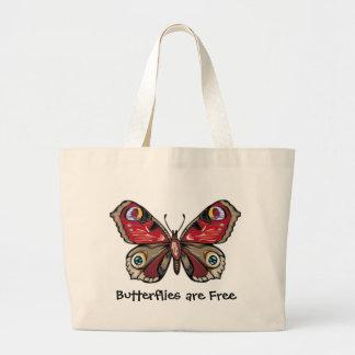 As borboletas são a bolsa de praia livre