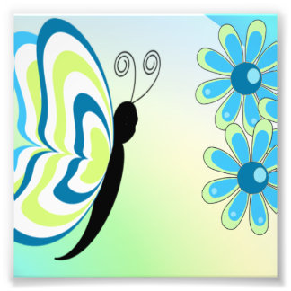 As borboletas são Groovy Impressão De Foto